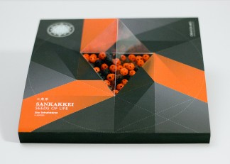 SANKAKKEI Buddha series packaging